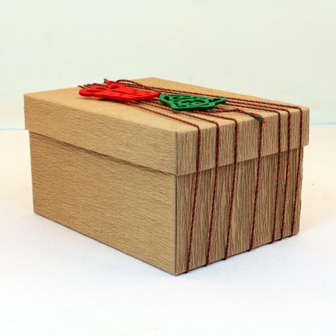 Kraft sıvama karton kutu
