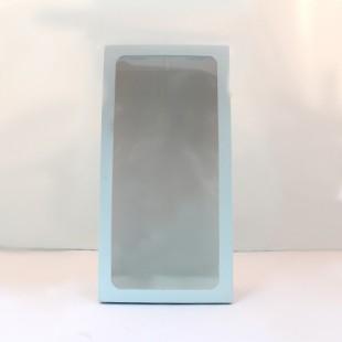 Mavi amigurumi bebek kutusu